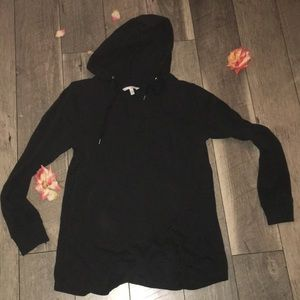Black Victoria Secret Angel hoodie